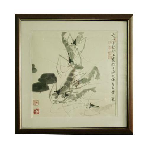 陈大朴《虾》50×50