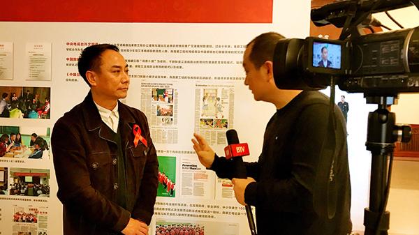 青爱小屋试点学校、北京小学万年花城分校刘显洋校长接受北京电视台采访